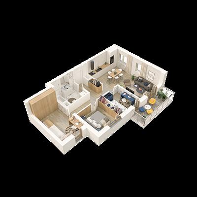 grafika mieszkania